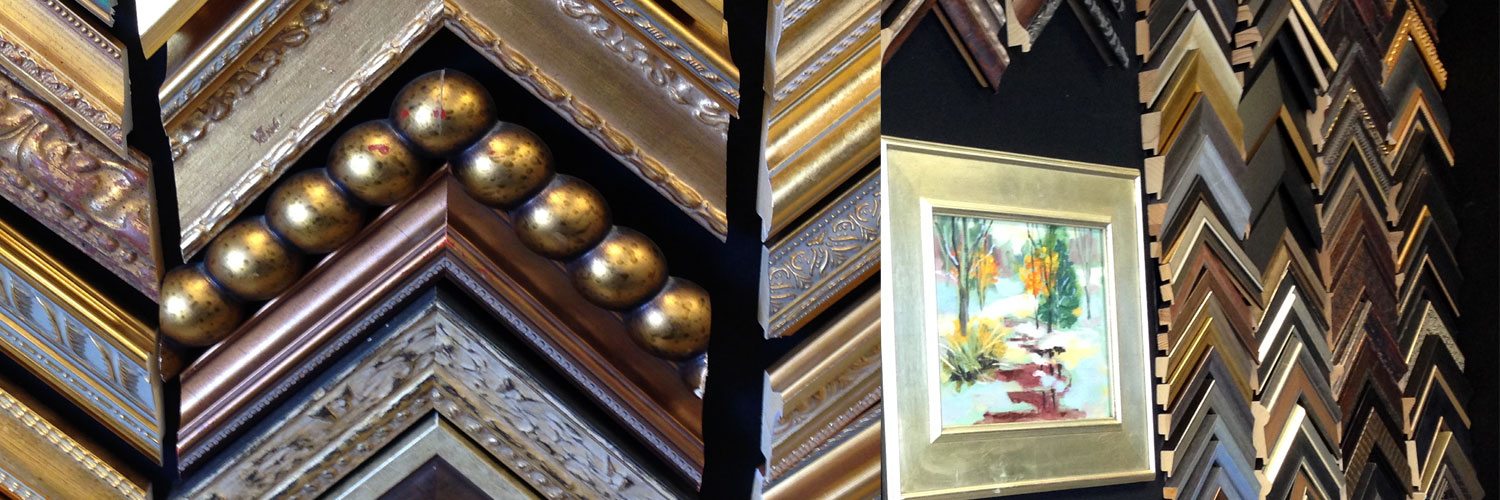 Beautiful frames of all colors and textures